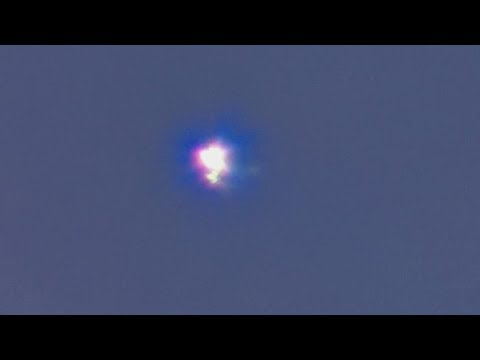 Plasmoid Anomaly flaring inside clouds p2 08/15/17 6:01pm EST.