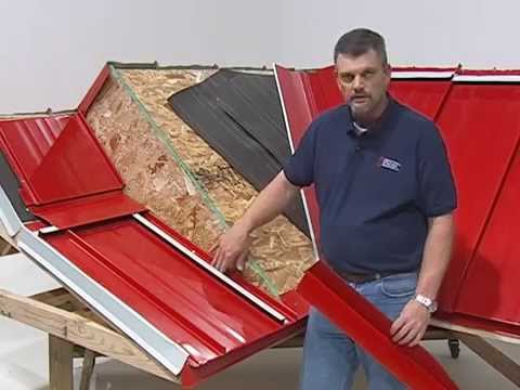 H Loc Roofing System Central States Video Youtube
