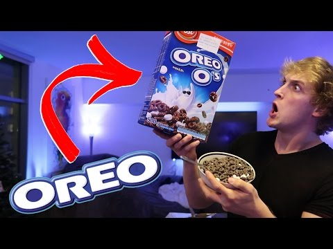 OREO HAS A CEREAL!? (Super Rare!)