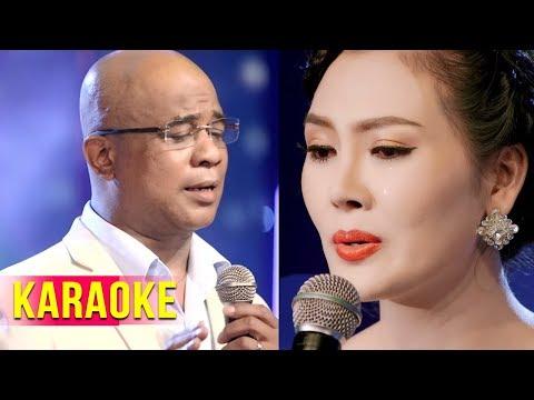 Cho Vừa Lòng Em (Karaoke) - Randy, Kim Thoa | Song Ca Bolero 2018