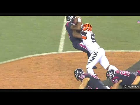 GENO ATKINS SACKS DESHAUN WASTON WEEK 2 (2017)