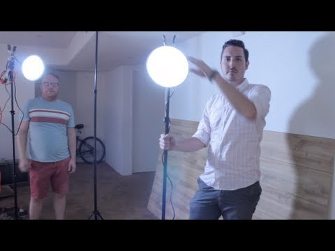 best diy video light kit on a budget tutorial