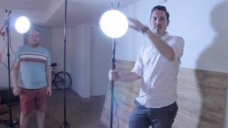 Best Diy Video Light Kit On A Budget - Tutorial