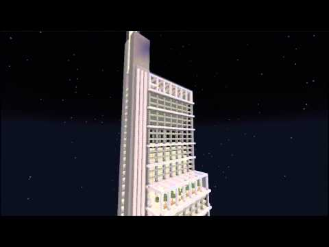 Minecraft Structures - New Comcast Tower