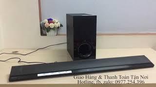 Loa Sony HT-CT390, Đánh giá âm thanh loa Sony HT-CT390 Chính Hãng - 0977254396