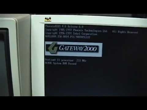 1998 Gateway 2000 Pentium II with DVD-ROM
