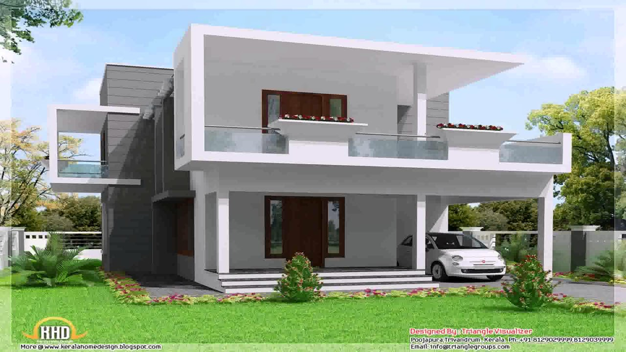 House Design For Corner Lot In The Philippines - YouTube