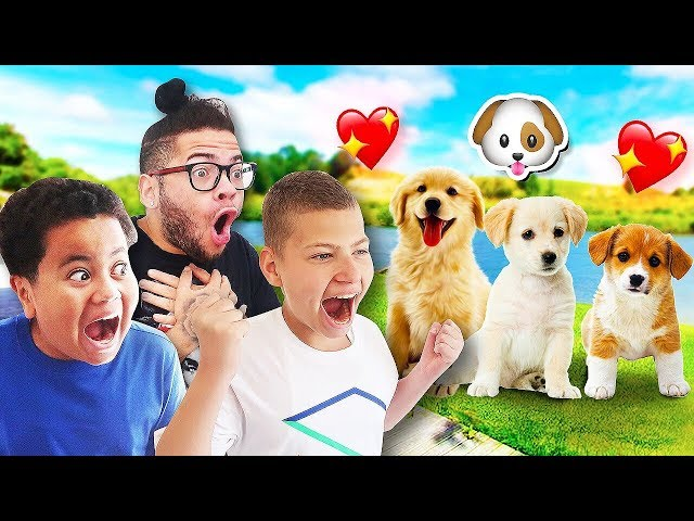 Dog Shopping With My Family!! *SO CUTE* (DID WE BUY A DOG?)