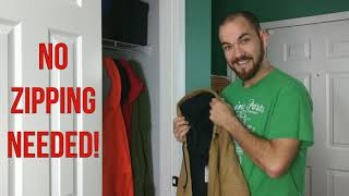 WORLD'S FIRST EVER! Hoodie Hanger!! NO more Hanger Marks!