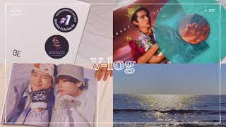 vlog  을왕리 드라이브 | new 바이닐 | 방탄 …