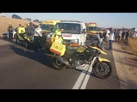 תאונת דרכים בכביש 6 בסמוך למחלף שורק