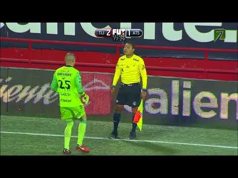 Gol de Milton Caraglio   Tijuana 2 - 2 Atlas   Liga MX - Clausura 2018 - Jornada 14