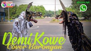 """Lagu Hits!! Jaranan """"Demi Kowe"""" Cover Barongan Devil Perjuang Ft Barongan Bayangkara Status WA"""
