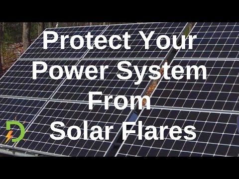 Protecting Off-grid Solar Components From Solar Flares