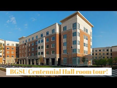 BGSU Centennial hall room tour !!!!