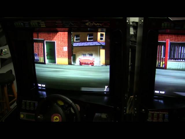 Sega Ferrari F355 Challenge Restoration Part 3 and Demo Game