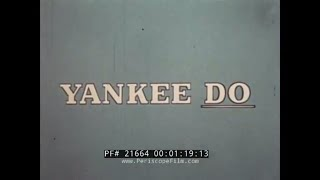 YANKEE DO: A STORY OF SEA POWER  1960s NUCLEAR AIRCRAFT CARRIER USS ENTERPRISE PROMO FILM 21664