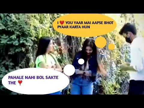 Download prank on cute girl 😍   A.K pranks Dilli haat prank video