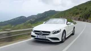 2017 Mercedes-AMG S 63 4MATIC Cabriolet Road Trailer