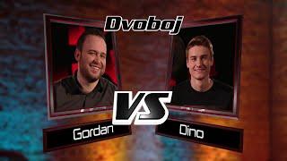 """Gordan vs. Dino: """"Molitva"""" - The Voice of Croatia - Season1 - Battle3"""