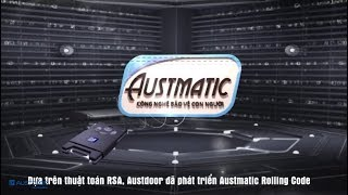 Công nghệ cửa cuốn an toàn – Austmatic Rolling Code