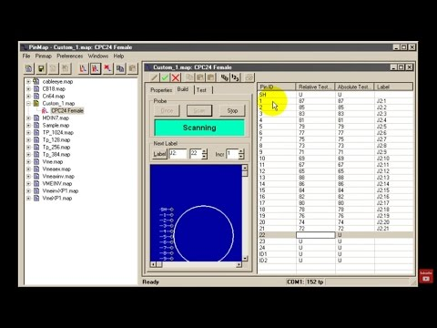 Linking Cable Testing Software to Custom Interfaces