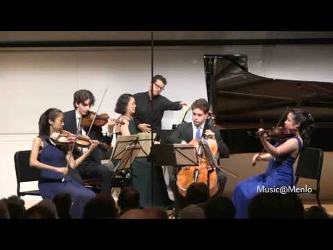 Dvorak Piano Quintet in A Major, op81  Music@Menlo