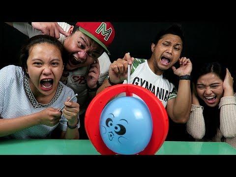 JANGAN DITONTON NANTI JANTUNGAN! CHALLENGE PALING BOOM! | AA UTAP