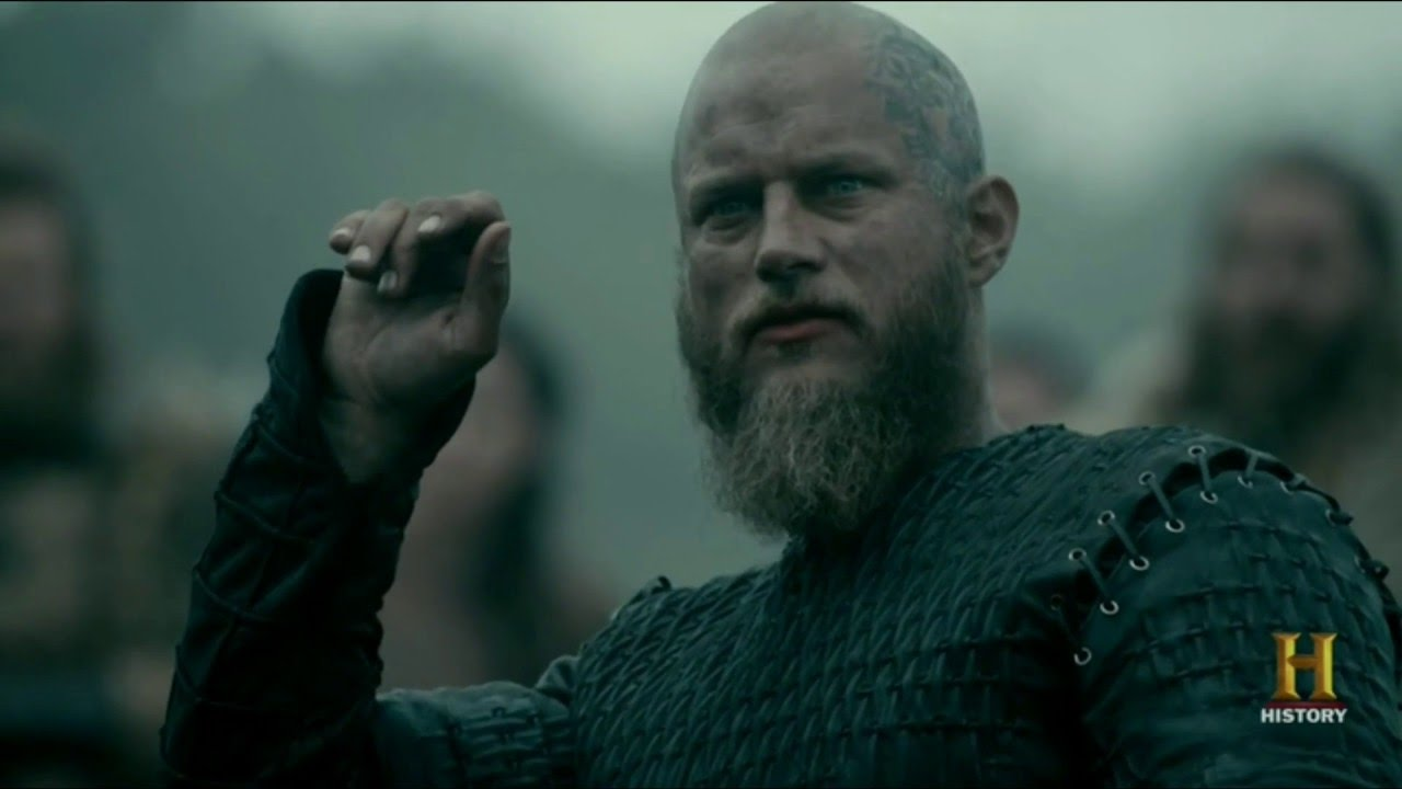 Make Your Own Quote Wallpaper Free Vikings Ragnar Lothbrok Means What He Says Youtube