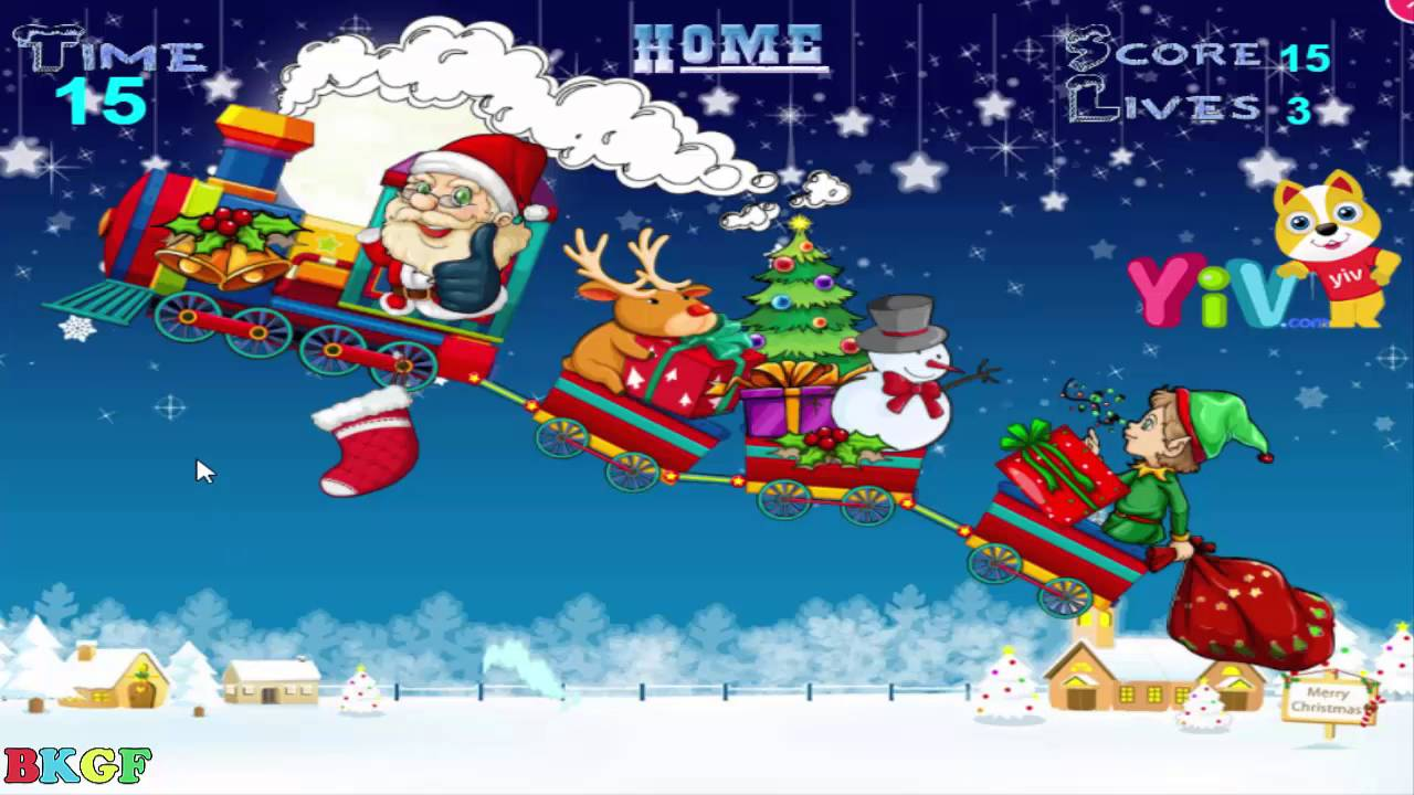 Yiv Merry Xmas Best Kid Games Free Game Baby Movie Youtube