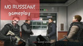 🔥Call of duty mw 2 'No Russian' gameplay🔥