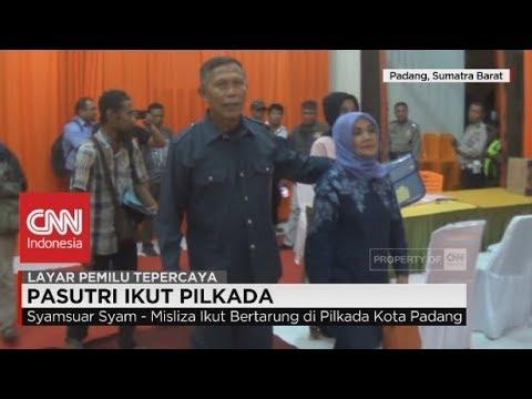 Yakin Menang, Suami Isteri Ikut Pilkada Padang