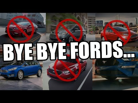 Ford is dying??? No more Fusion, Taurus, or Fiesta??