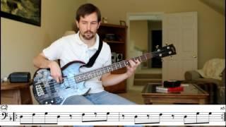 Marvin Gaye - Right On (Bob Babbitt) - Bass Transcription