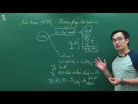 Bài toán về HNO3 - Phương pháp bảo toàn electron - Hóa 11