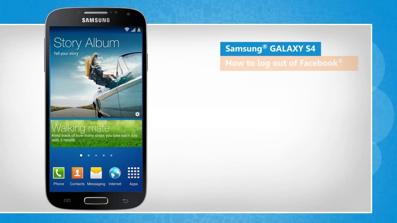 Notebook samsung facebook - Logout Of Facebook In Samsung Galaxy S4