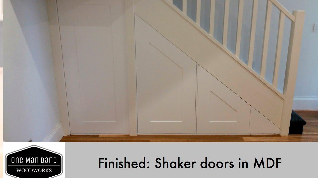 Making Shaker Doors in MDF - final - YouTube
