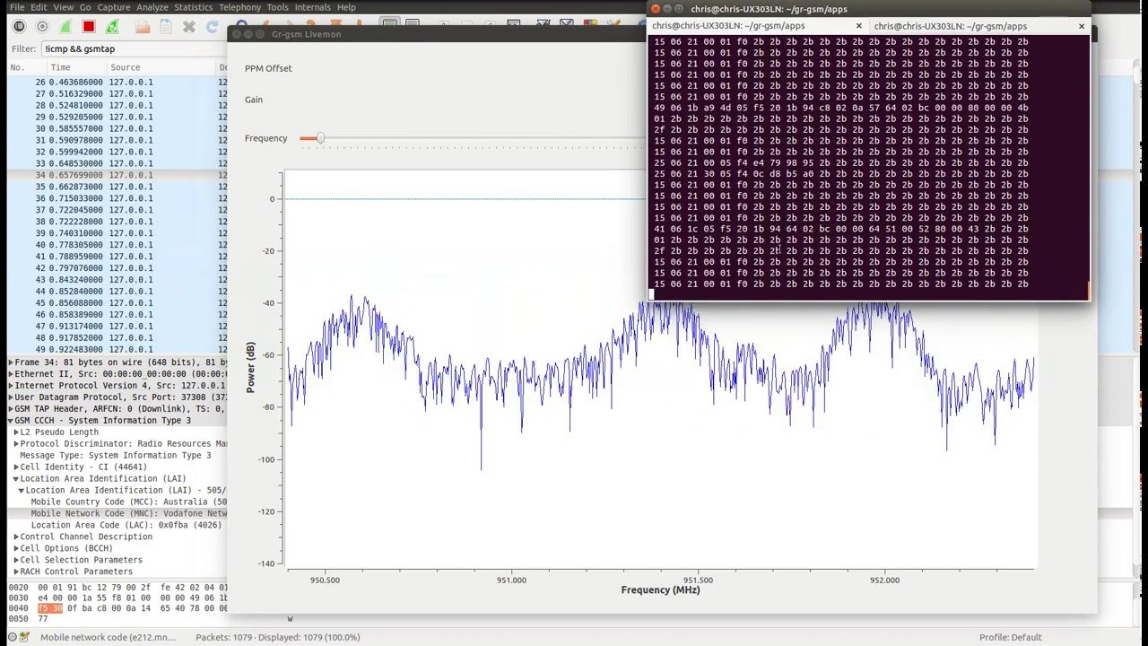 GSM (Cellular) Sniffing with $10 RTL-SDR
