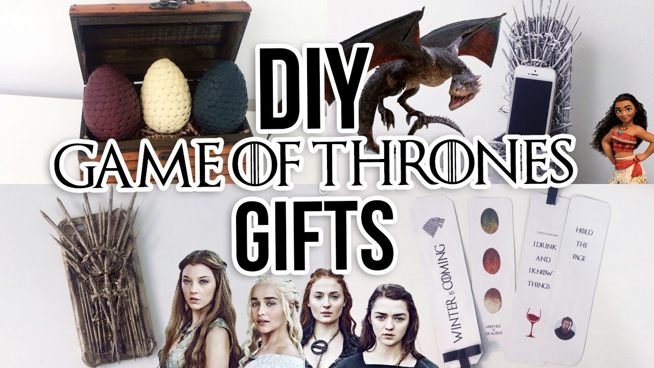diy game of thrones gift ideas giveaway youtube