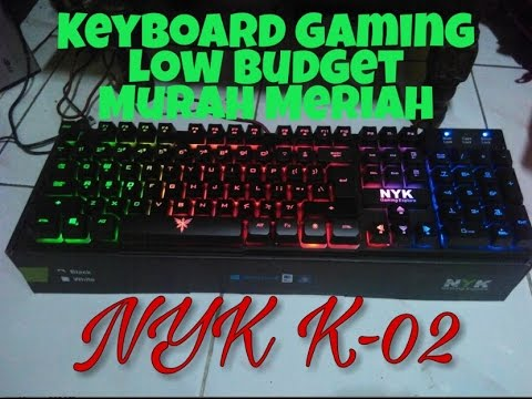 Unboxing Keyboard Gaming Murah (NYK K-02) Low Budget