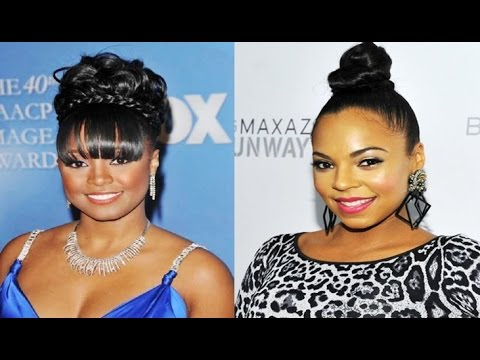 Latest Classic Bun Updo Hairstyles For African American Women Youtube