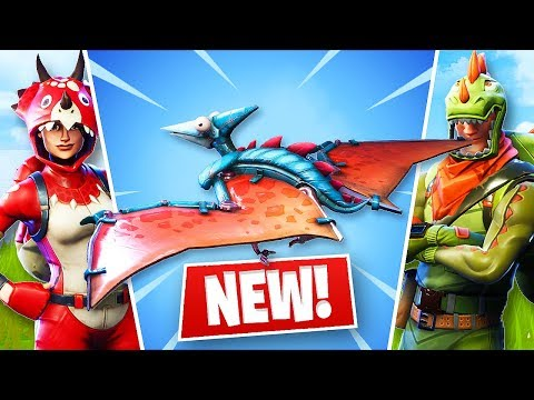 BEST GAME EVER W/ NEW PTERODACTYL GLIDER!! (Fortnite Battle Royale)