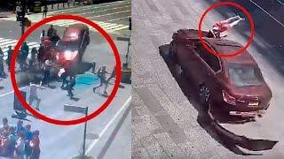 VIDEO IMPACTANTE DEL ACCIDENTE EN TIME SQUARE NUEVA YORK 18.5.17