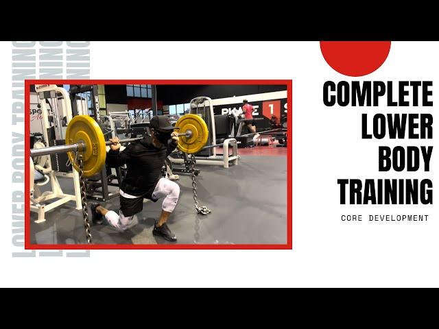ABT- Athletic Based Training: Complete Lower Body Training Program   Core Development
