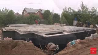 видео Строительство коттеджа из кирпича