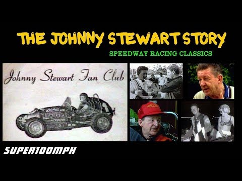 THE JOHNNY STEWART STORY - Speedway Racing Classics