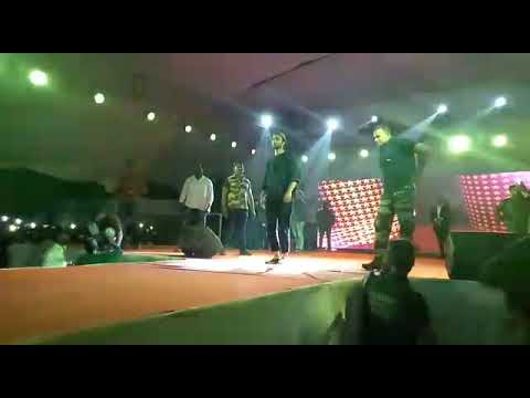 Raghav juyal dance in BIT college