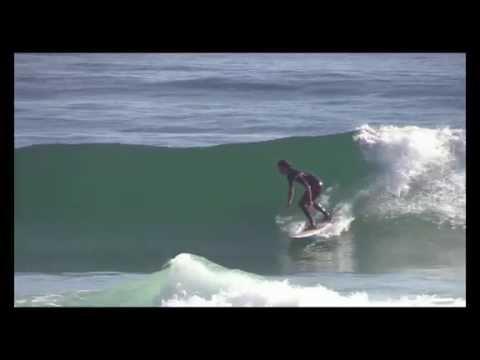 Surf coaching: Forehand Bottom Turns - Regular Footer Version