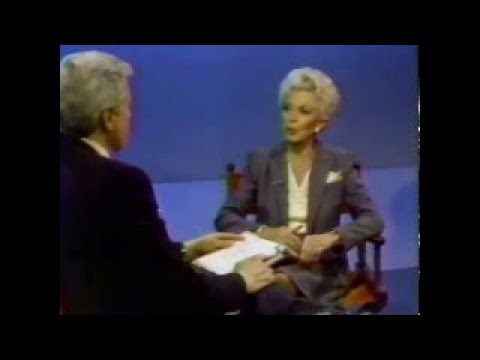 Lana Turner, Robert Osborne, 1982 TV Interview