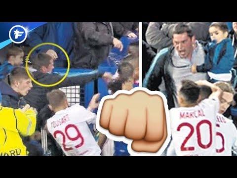 La bagarre Everton-OL fait jaser en Angleterre   Revue de presse